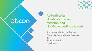 At The Source: Holistically Tracking Monetary and Non-Monetary Engagement