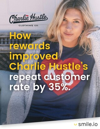 How rewards improved Charlie Hustle's repeat customer rate by 35%
