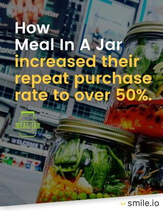 How Meal In A Jar increased their repeat purchase rate to over 50%