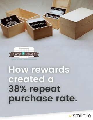 How rewards created a 38% repeat purchase rate - Stamp-n-Storage