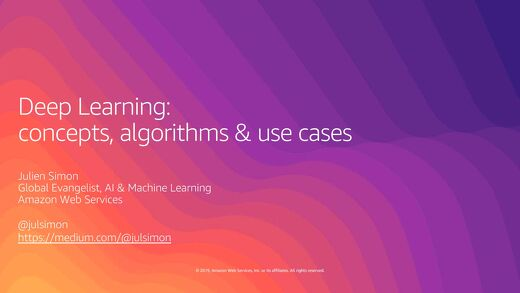 AI&ML Day - Deep Learning for Developers