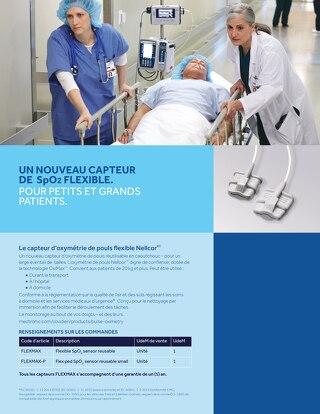 CAPTEUR NELLCOR FLEMAX INSTRUCTIONS DE NETTOYAGE
