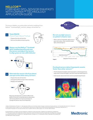 NELLCOR™ FOREHEAD SPO2 SENSOR (MAXFAST) WITH OXIMAX™ TECHNOLOGY APPLICATION GUIDE