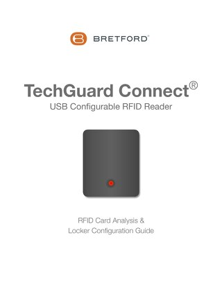 TechGuard Connect RFID Card Analysis & Locker Configuration Guide