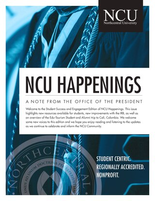 NCU Happenings October 2019