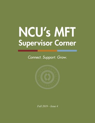 MFT Supervisor Corner Issue 4