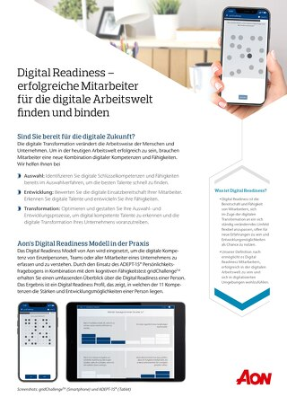 Flyer Digital Readiness