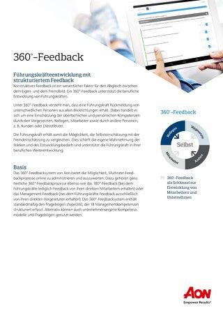 360°-Feedback Infoflyer