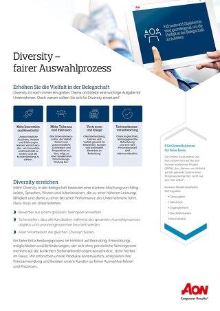 Diversity Infoflyer