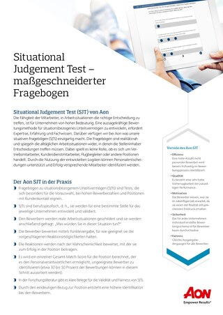 Flyer Situational Judgement Test