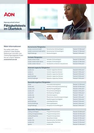 scales Überblick Infoflyer