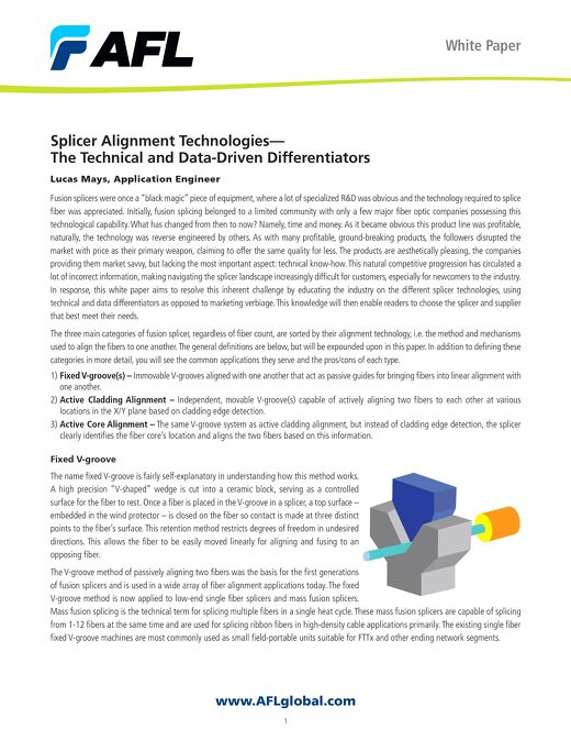 Splicer Alignment Technologies - The Technical and Data-Driven Differentiators