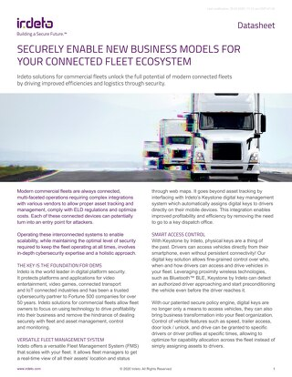 Datasheet: Keystone for Trucking Fleets