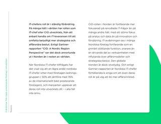 Karriärtips för nordiska CIOs