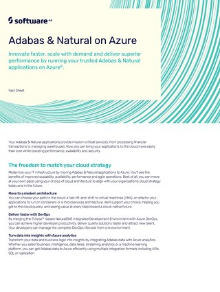 Lift and shift your applications to Microsoft® Azure®