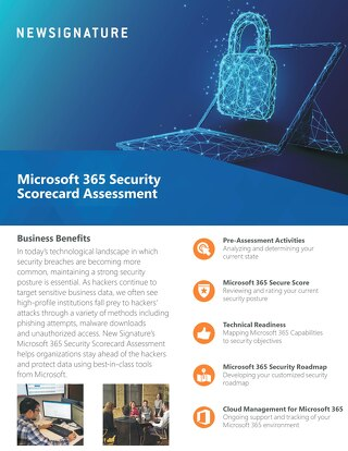 Security Scorecard Assessment Flyer 2019