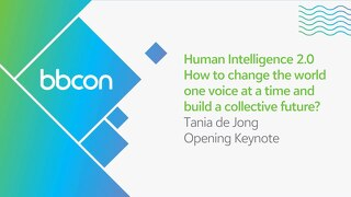 Opening Keynote: Tania De Jong