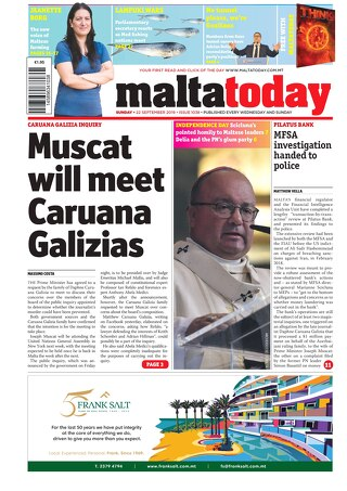 MALTATODAY 22 September 2019
