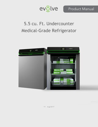 Medical-Grade Undercounter Refrigerator Manual