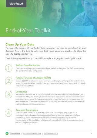 Data Cleaning Tipsheet