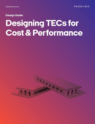 Designing TECs for Cost & Performance