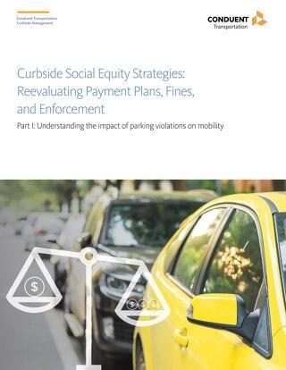 路边社会公平策略(第1部分):了解违规停车的移动性的影响