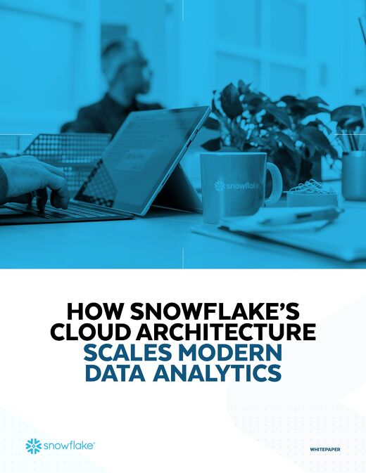 How Snowflake's Cloud Architecture Scales Modern Data Analytics
