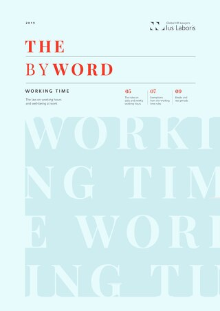 IusLaboris - The Byword 'Working Time'