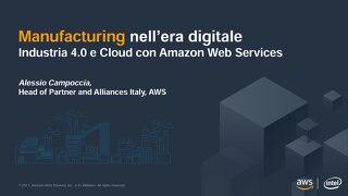 Industry 4.0 con Amazon Web Services - slide