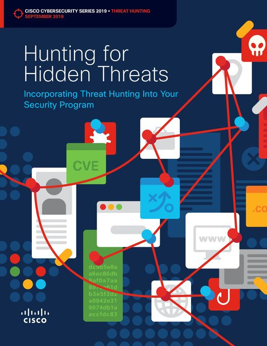Hunting for Hidden Threats – Cisco Cybersecurity 2019 Threat Report Series