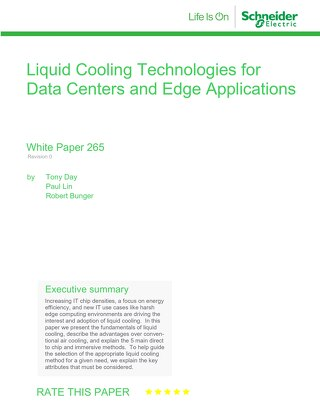 WP 265 Liquid Cooling
