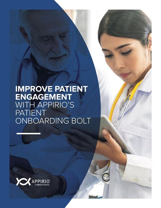 The Patient Onboarding Bolt for Patient Access Centers