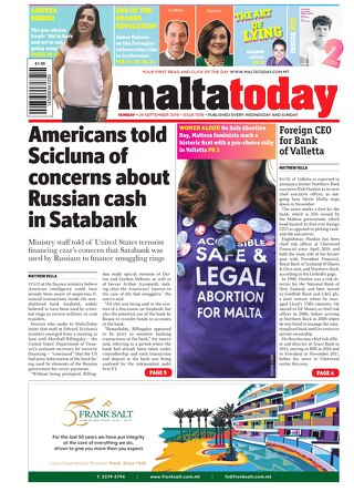 MALTATODAY 29 September 2019