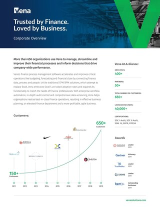 Vena Corporate Overview