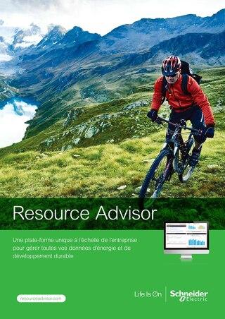 Découvrez Resource Advisor (Brochure)