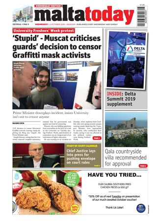 MALTATODAY 2 October 2019 Midweek