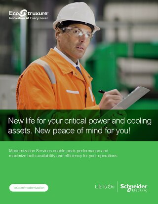 Modernization Services for Power & Cooling