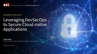 Leveraging DevSecOps to Secure Cloud-native Applications