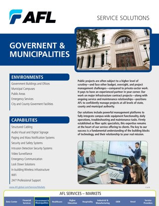 AFL Service Solutions - Government/Municipalities