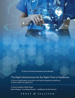 The right infrastructure for the right time in healthcare - a Frost & Sullivan White Paper