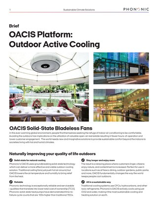 OACIS Sales Brief