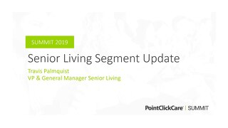 Market Overview - Senior Living