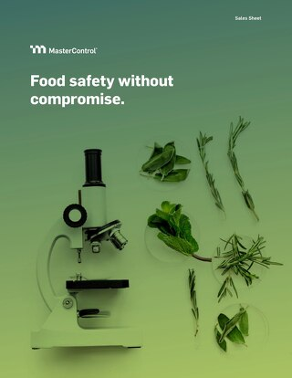 MasterControl Food Safety