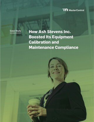 How Ash Stevens Inc. Boosted Its Equipment Calibration  and Maintenance Compliance