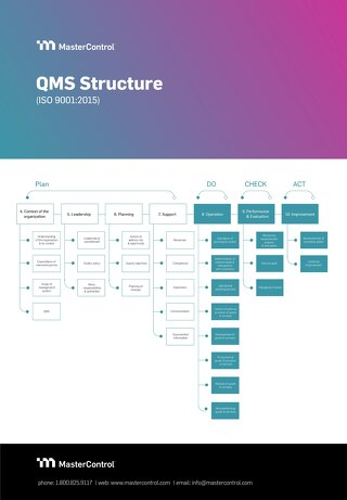 ISO 9001 QMS Structure Diagram