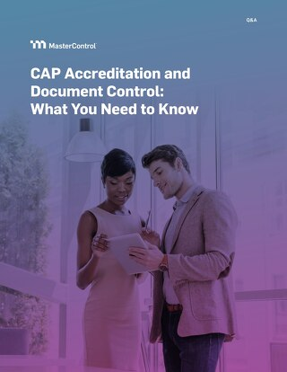 CAP Accreditation and Document Control