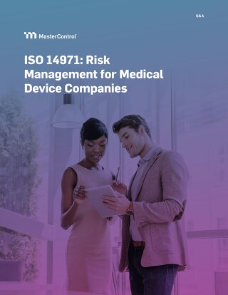 ISO 14971 Medical Device Risk Management