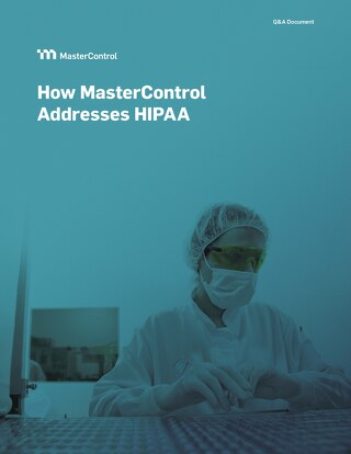 How MasterControl Addresses HIPAA Challenges