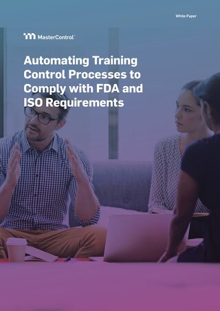 Automating Training Control Processes