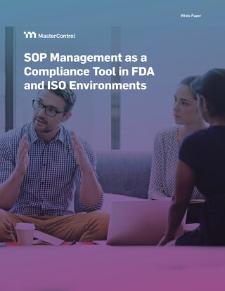 SOP Management as a Compliance Tool in FDA and ISO Environments